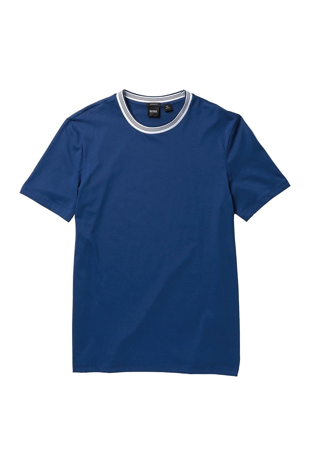 BOSS Tiburt Short Sleeve Regular Fit T-Shirt