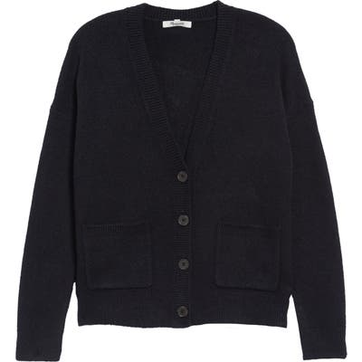 Madewell Arbour Cardigan Sweater, Black