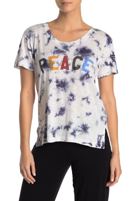 Image of PJ SALVAGE Vintage Feels Tie Dye Pajama T-Shirt