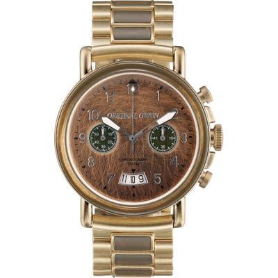 Original Grain Military Chronograph Watch Set, 4m