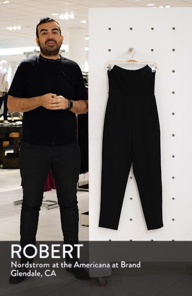 Finder Keepers Naomi Strapless Jumpsuit, sales video thumbnail