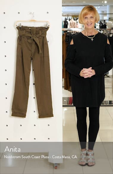 Rory Paperbag Waist Utility Trousers, sales video thumbnail