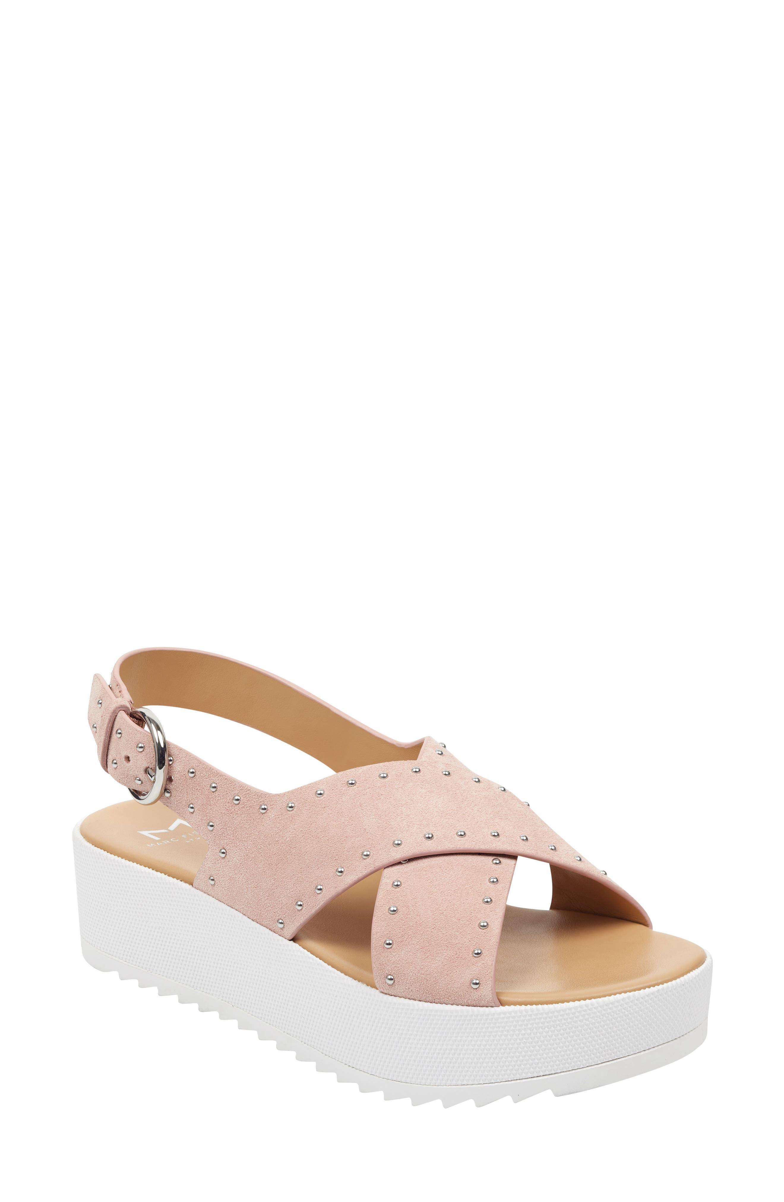 Marc Fisher Ltd Delilah Slingback Sandal, Pink