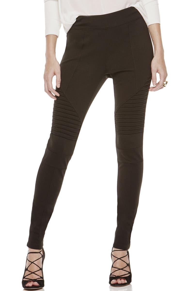 9065baa2562ba Two by Vince Camuto Ponte Leggings, Main, color, RICH BLACK