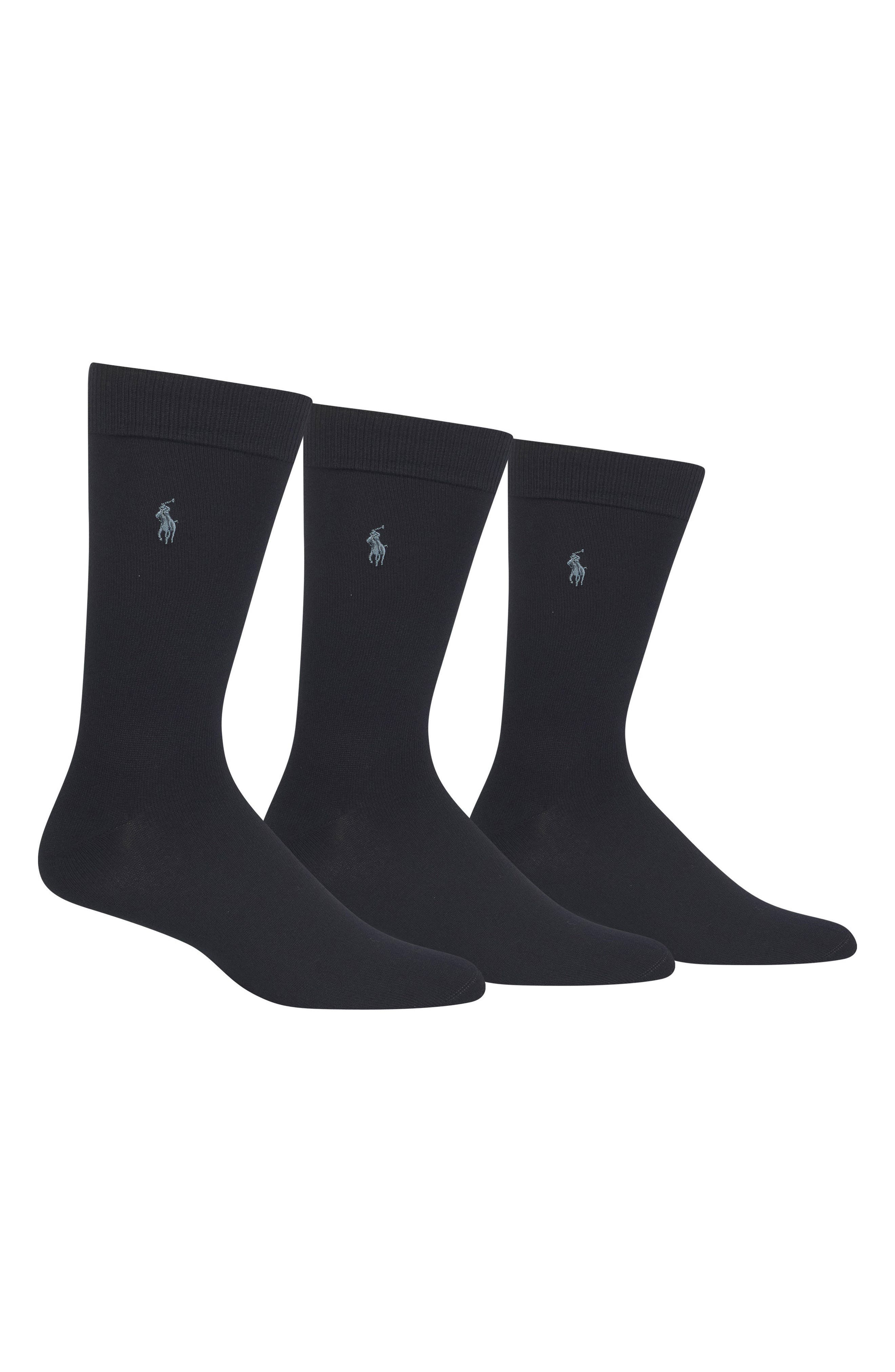 ,                             Assorted 3-Pack Supersoft Socks,                             Main thumbnail 5, color,                             401