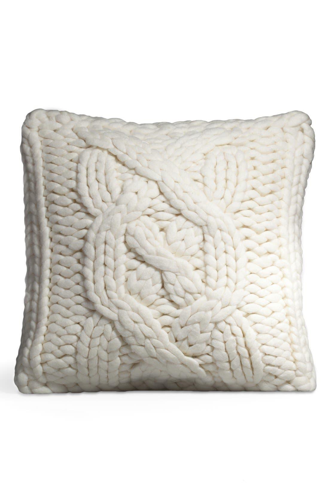 ,                             Oversize Knit Pillow,                             Alternate thumbnail 8, color,                             250