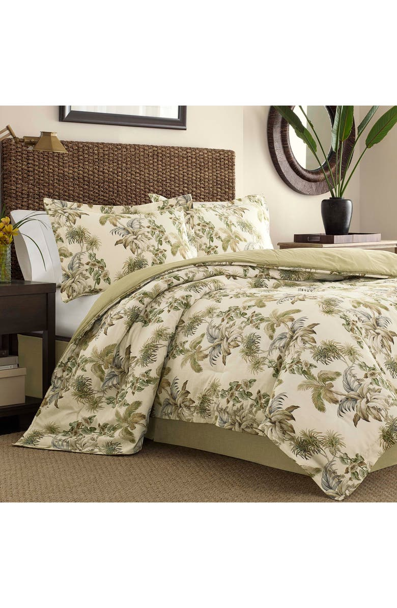 TOMMY BAHAMA Nador Comforter & Sham Set, Main, color, NEUTRAL