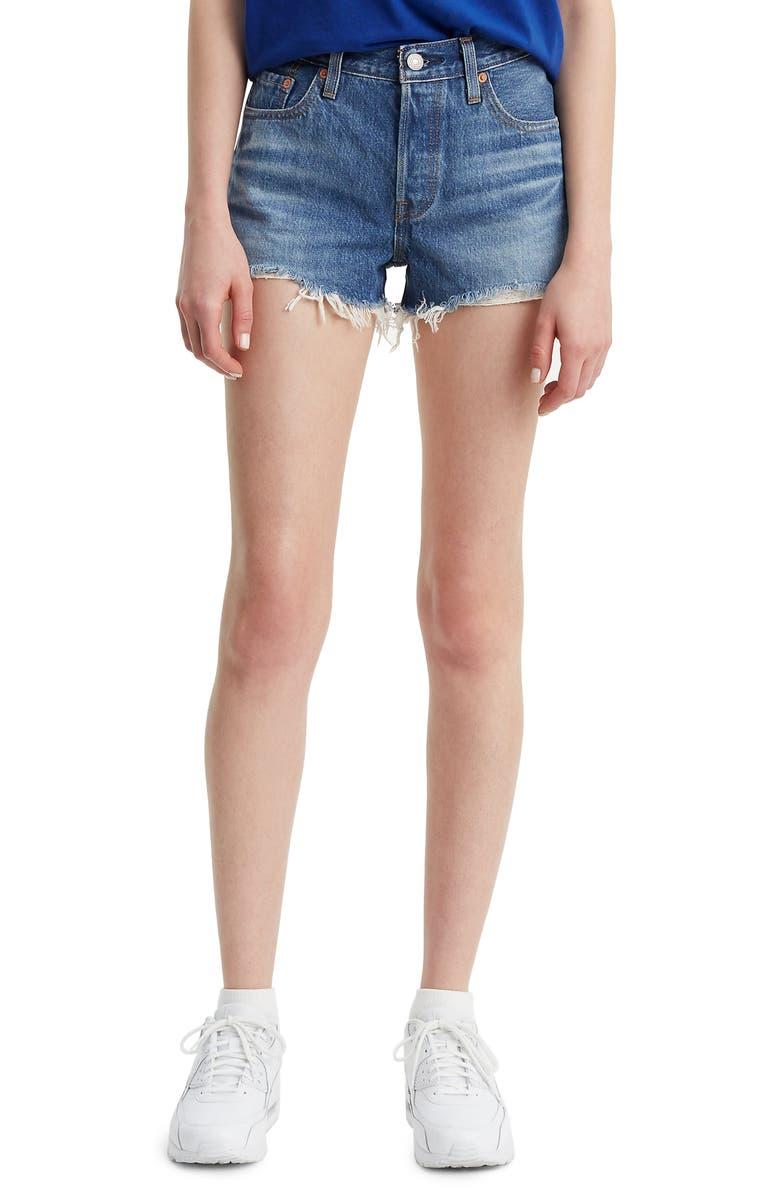long levi shorts
