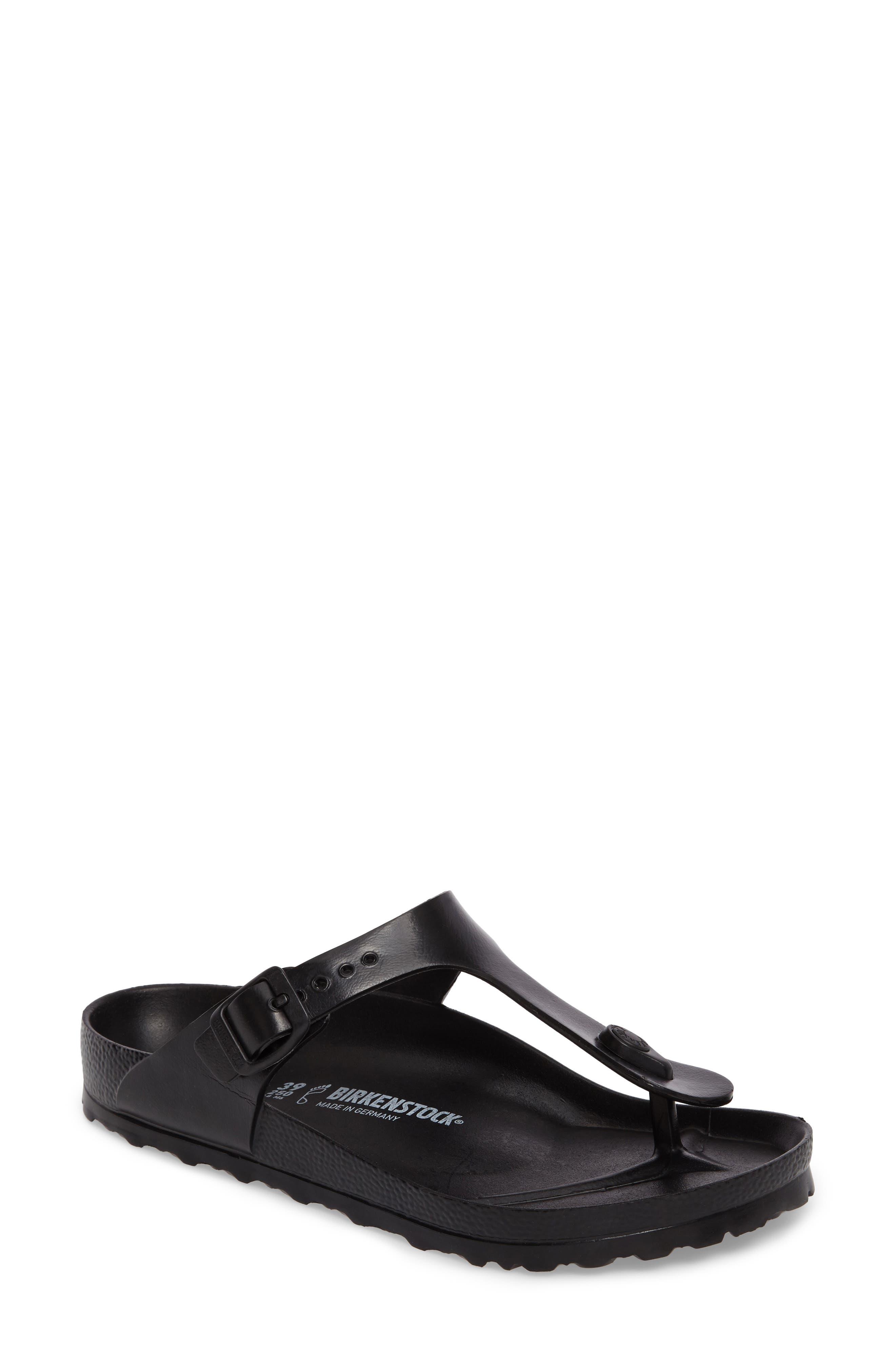 Birkenstock Essentials - Gizeh Flip Flop,5.5 - Black