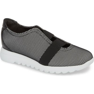 Munro Alta Slip-On Sneaker SS - Black