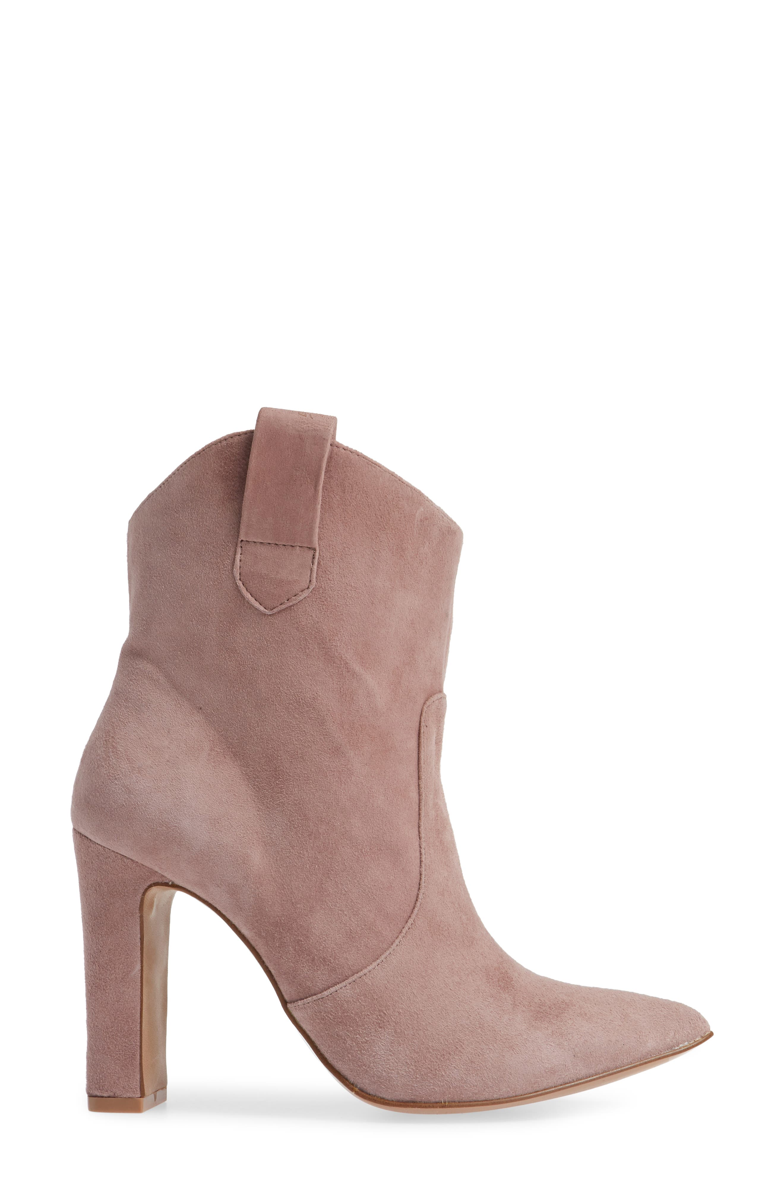 ,                             Karly Suede Bootie,                             Alternate thumbnail 15, color,                             500