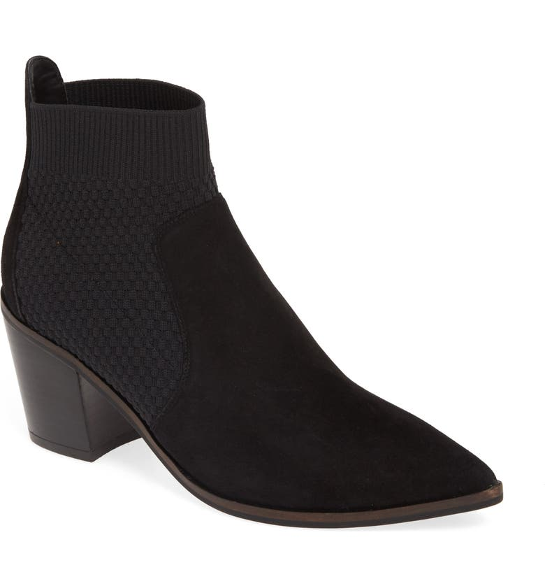 COLE HAAN Maggie Bootie, Main, color, BLACK SUEDE