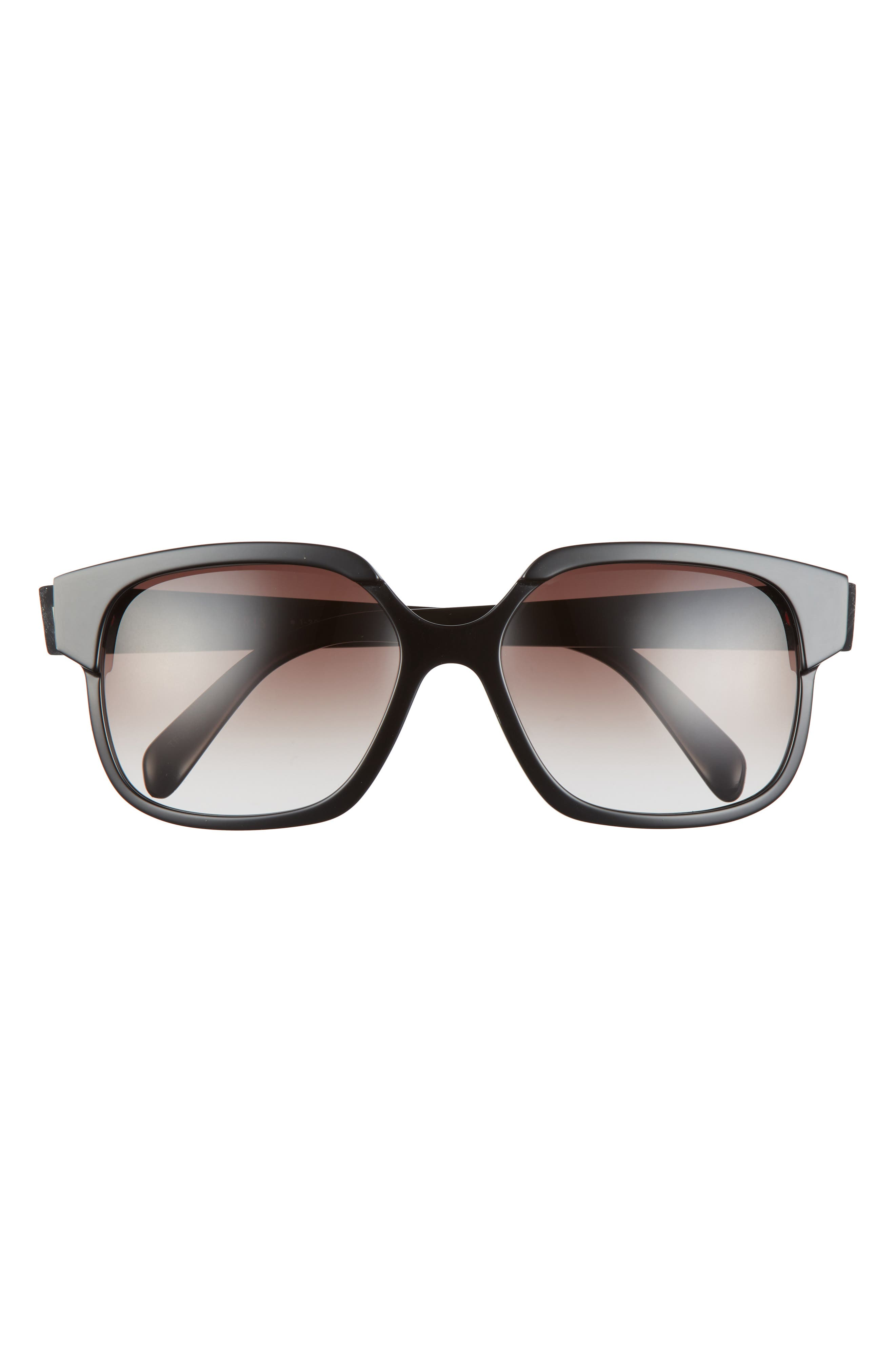 59mm Gradient Rectangle Sunglasses