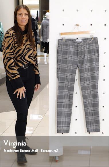 Check Skinny Fit Pants, sales video thumbnail