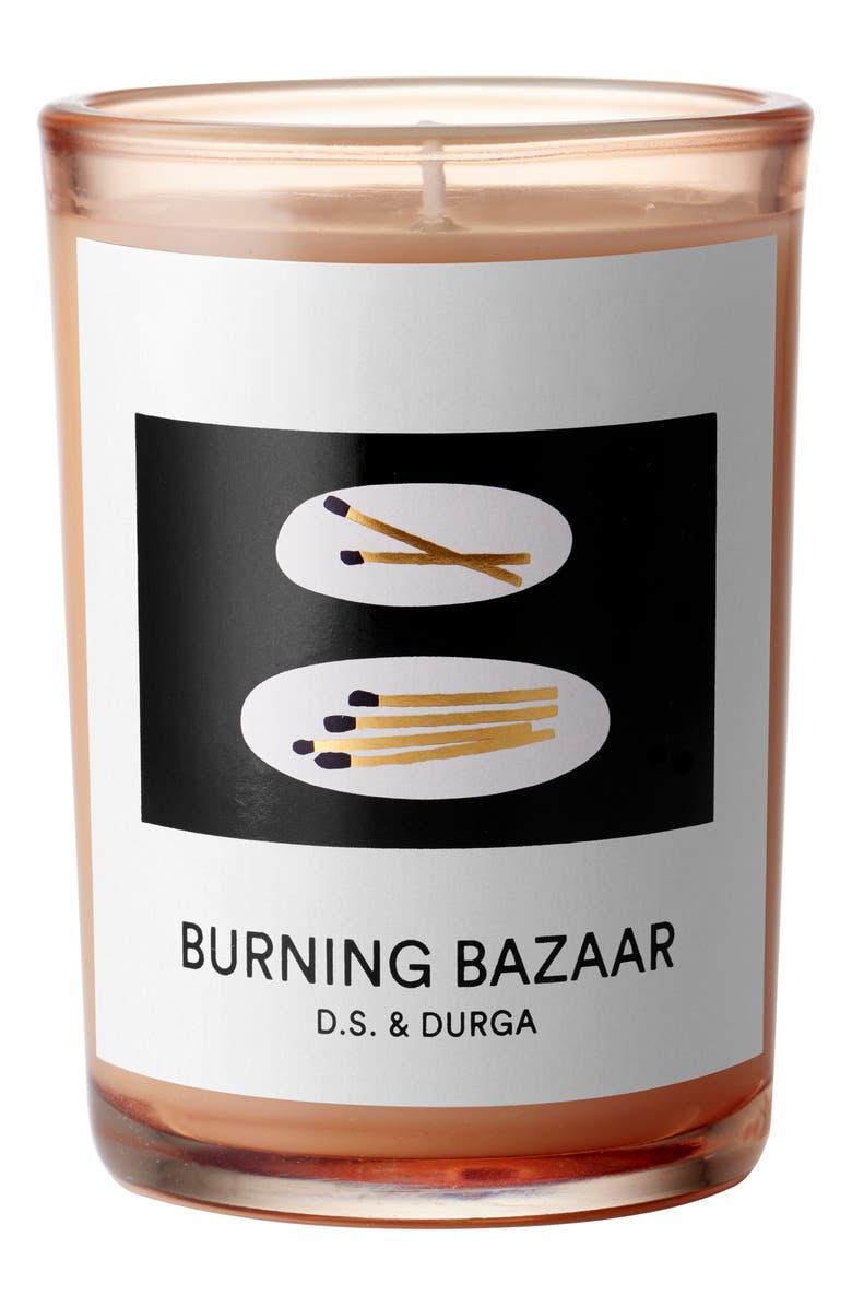 D.S. & DURGA Burning Bazaar Candle, Main, color, 000