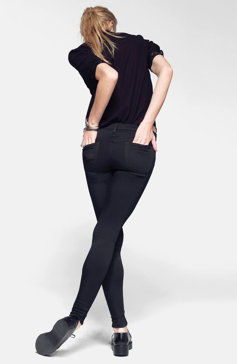 JOE'S 'Sooo Soft' Mid Rise Leggings, Main, color, 001