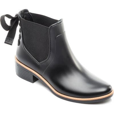 Bernardo Paxton Waterproof Rain Boot, Black