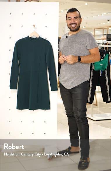 Lula Long Sleeve Knit Minidress, sales video thumbnail