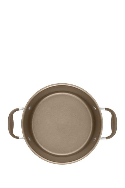 Image of Anolon Advanced Umber 7.5 Qt. Covered Wide Stockpot