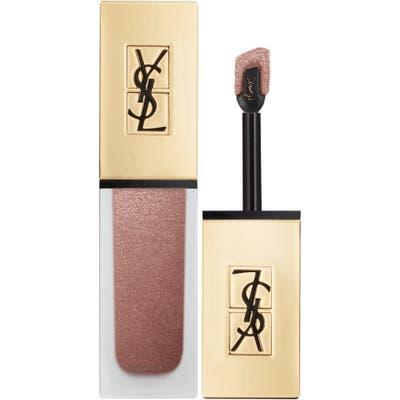 Yves Saint Laurent Tatouage Couture Metallics Liquid Lipstick - 104 Rose Gold Riot