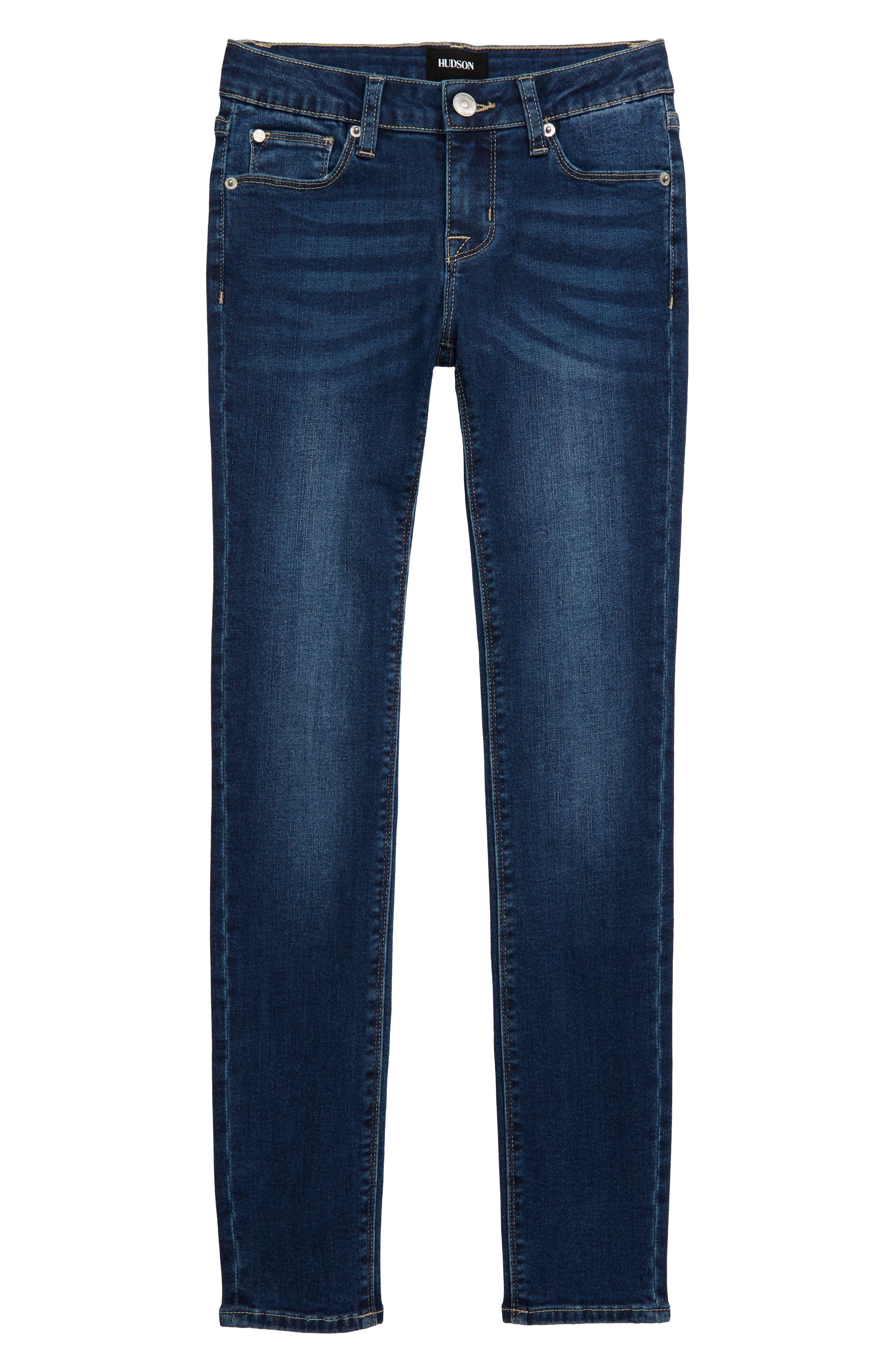 Girls Hudson Jeans Christa Skinny Jeans Size 7  Blue