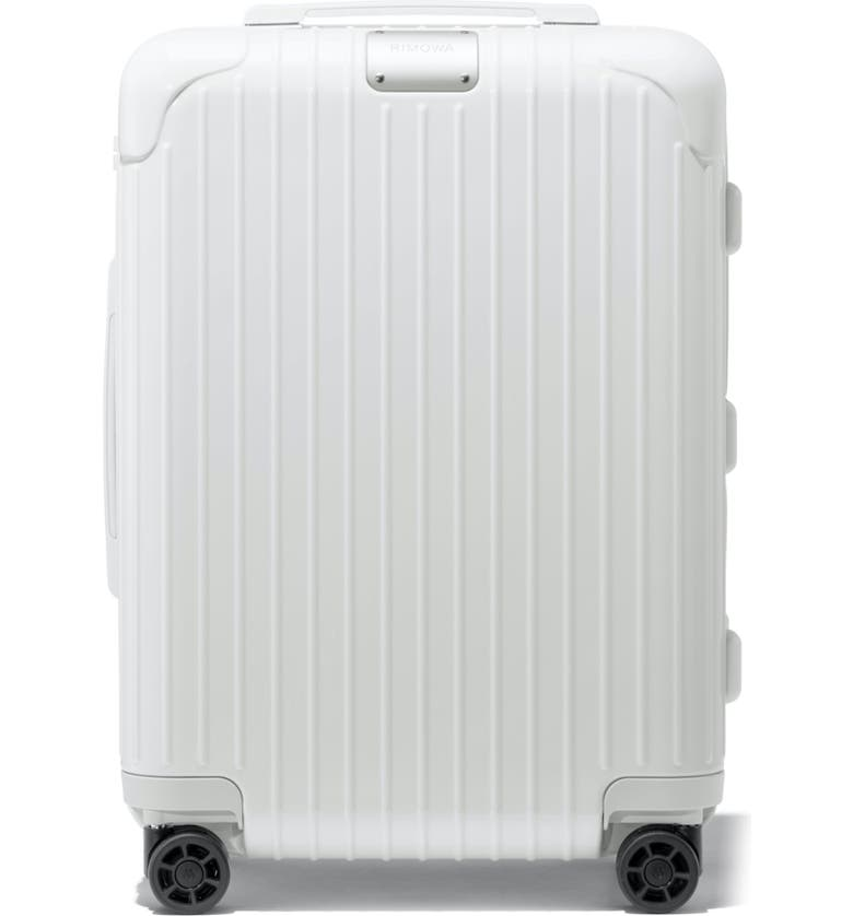 RIMOWA Essential Cabin 22-Inch Wheeled Carry-On, Main, color, WHITE
