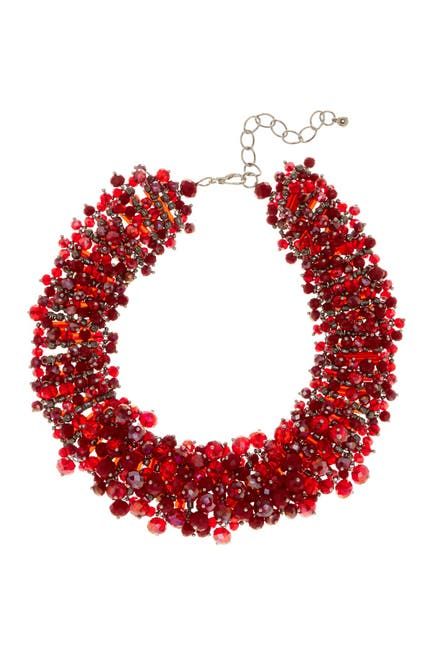 Image of Eye Candy Los Angeles Bauble Wreath Collar Necklace