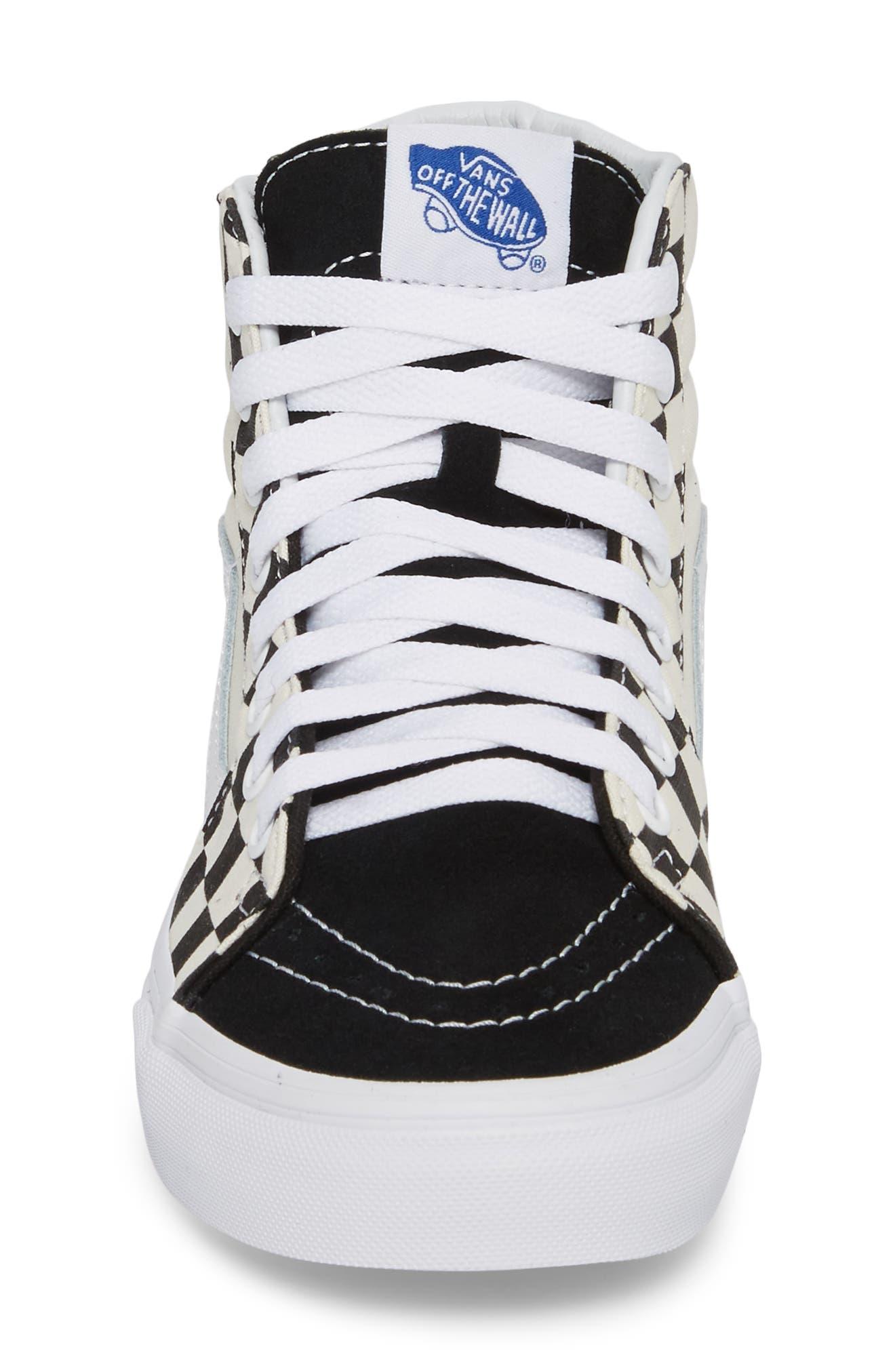 ,                             Sk8-Hi Checker Sneaker,                             Alternate thumbnail 20, color,                             100