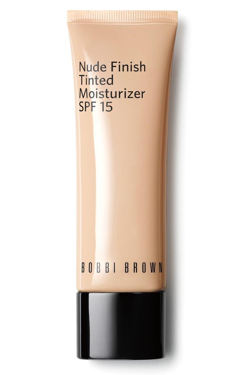 BOBBI BROWN Nude Finish Tinted Moisturizer SPF 15, Main, color, MEDIUM TINT