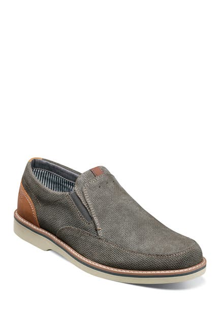 Image of NUNN BUSH Barklay Moc Toe Slip-On Shoe - Wide Width Available