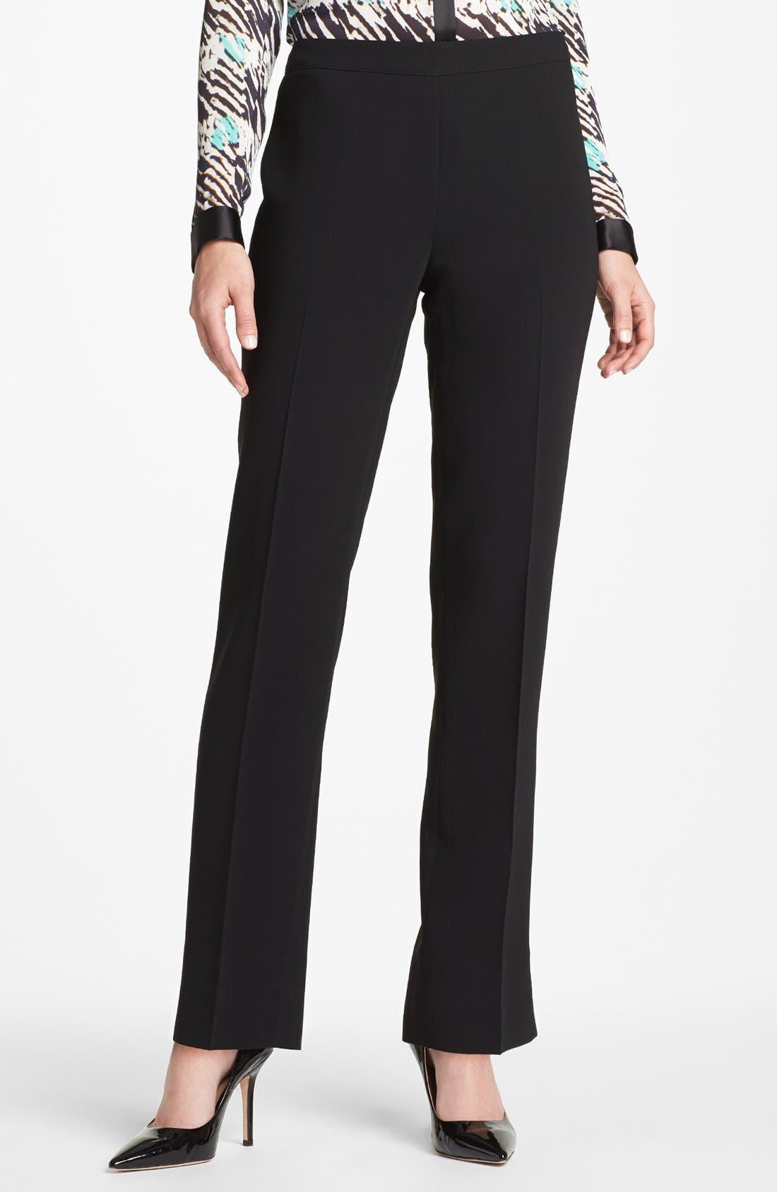 Women's Lafayette 148 New York Bleecker - Finesse Crepe Pants