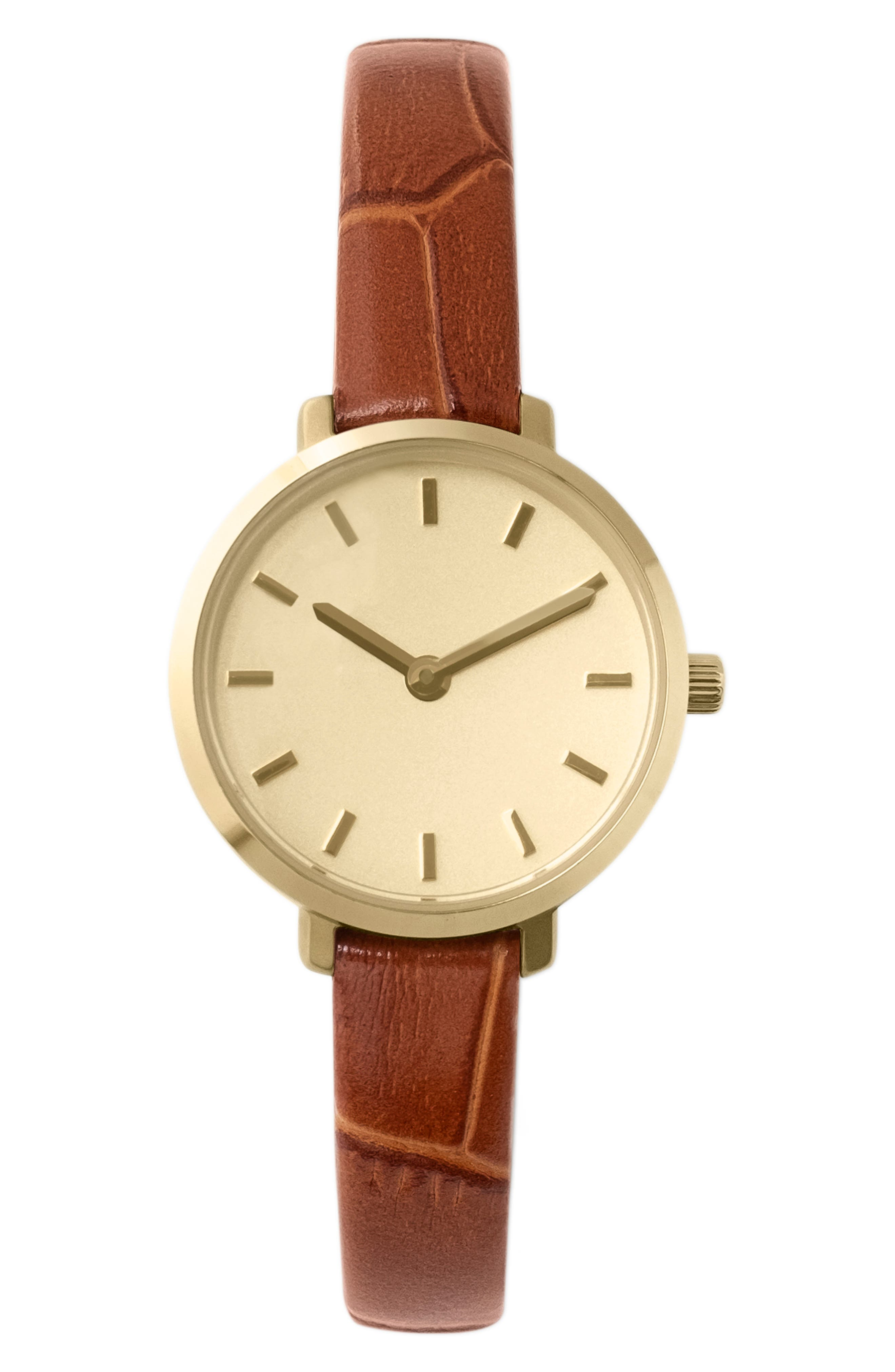 Beverly Leather Strap Watch