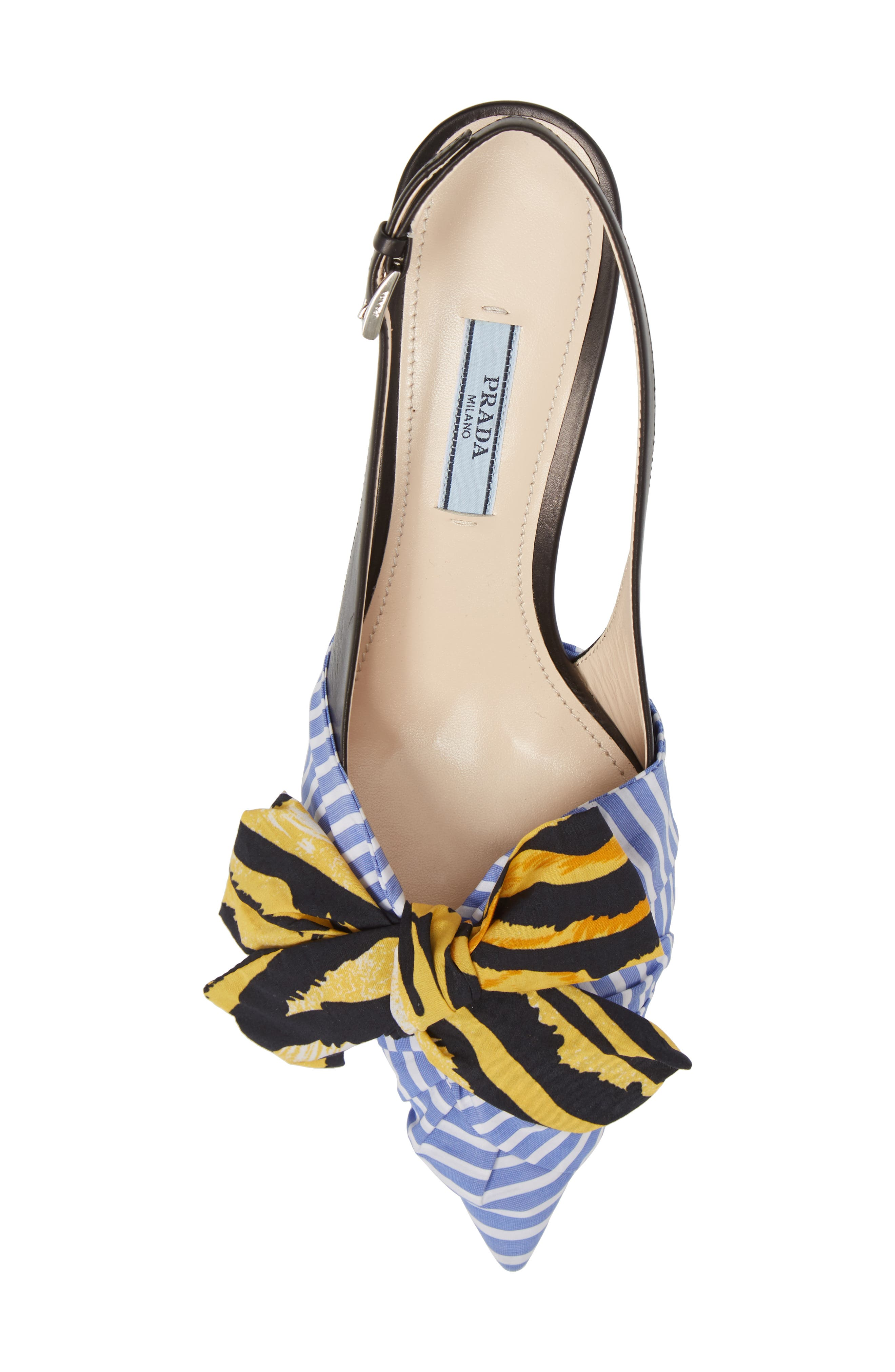 ,                             Bow Pointy Toe Pump,                             Alternate thumbnail 5, color,                             425