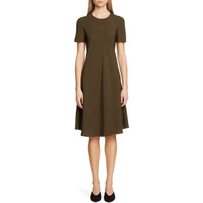 Rosetta Getty Bias T-Shirt Dress, Brown