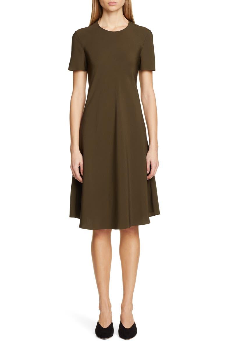 ROSETTA GETTY Bias T-Shirt Dress, Main, color, 200