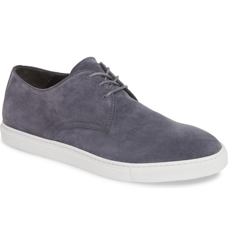 TO BOOT NEW YORK Grand Sneaker, Main, color, GREY SUEDE/ LEATHER