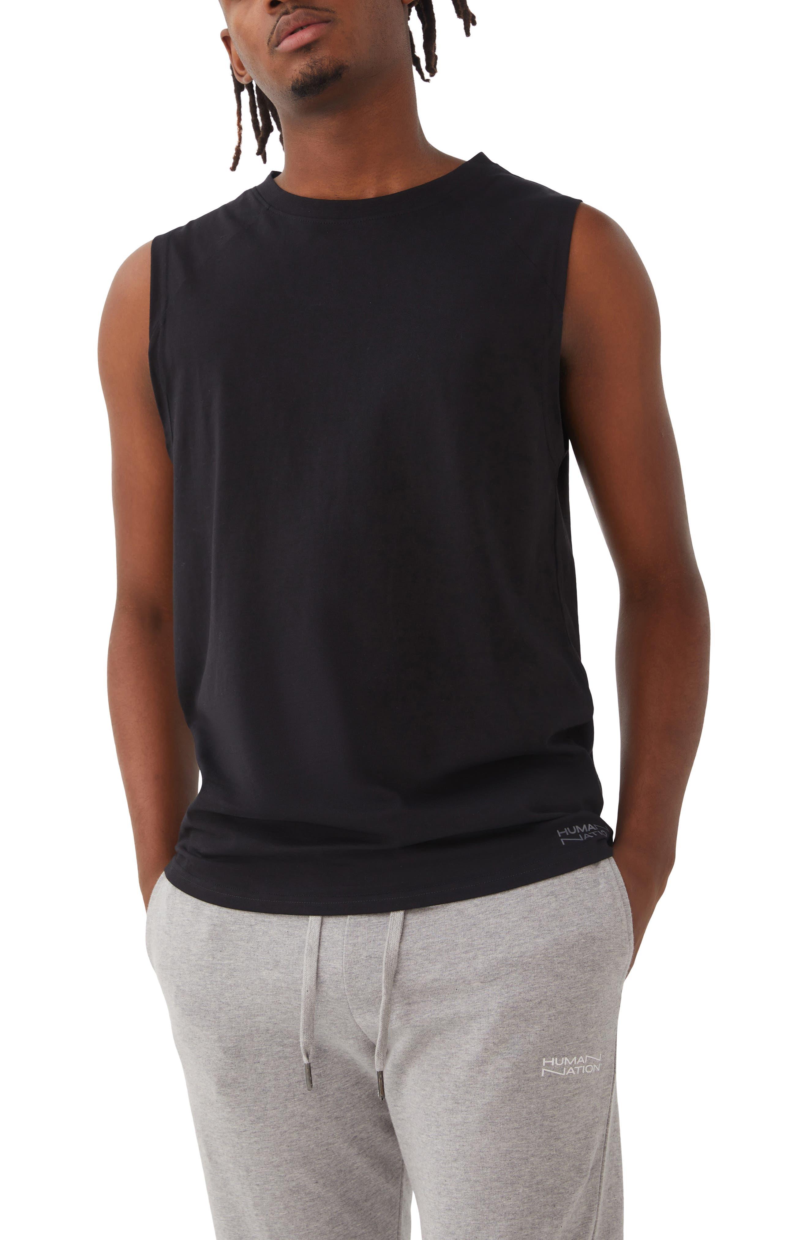 Gender Inclusive Big Mood Organic Cotton Muscle T-Shirt