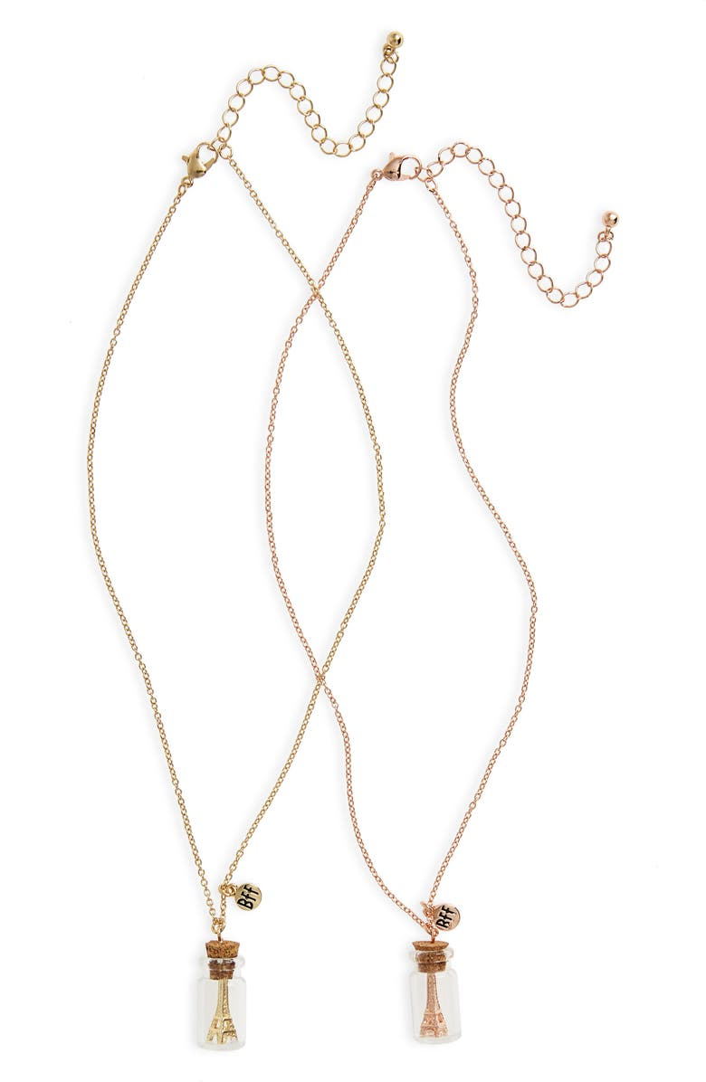 CAPELLI NEW YORK Set of 2 Paris BFF Necklaces, Main, color, 710