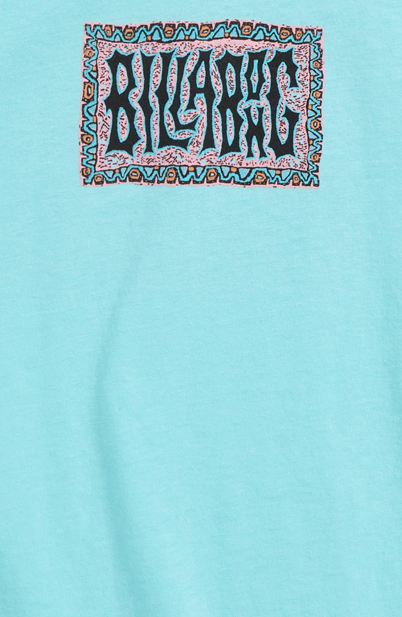 ,                             Warp Graphic T-Shirt,                             Alternate thumbnail 3, color,                             SPEARMINT