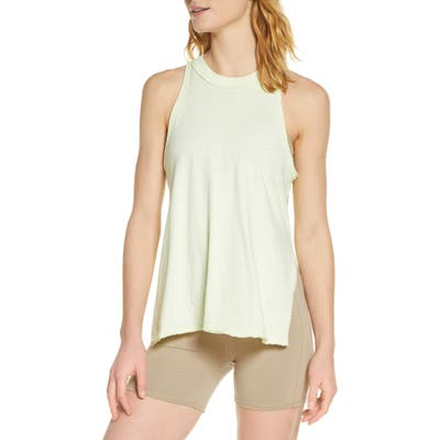Free People Fp Movement Fade With The Waves Tank Top, Green