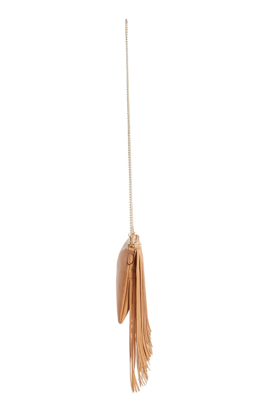 ,                             'Rose' Fringe Faux Leather Convertible Crossbody Bag,                             Alternate thumbnail 16, color,                             232