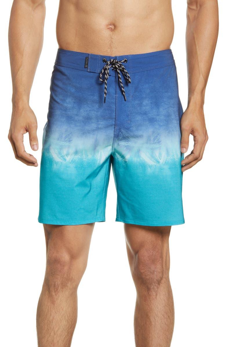 HURLEY Phantom Radiate Board Shorts, Main, color, MYSTIC NAVY