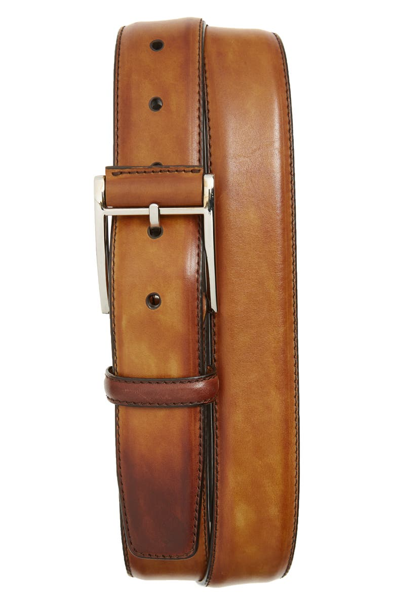MAGNANNI Velaz Belt, Main, color, CUERO