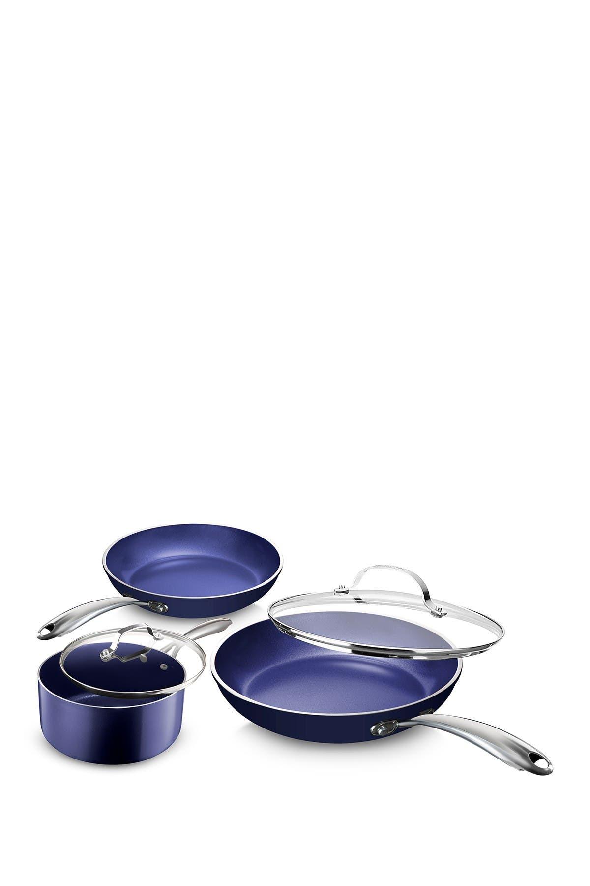 Granitestone Blue 5 Piece Cookware Set Nordstrom Rack