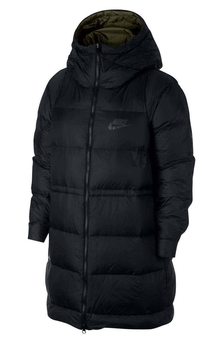 NIKE Sportswear Women's Reversible Down Fill Jacket, Main, color, 010