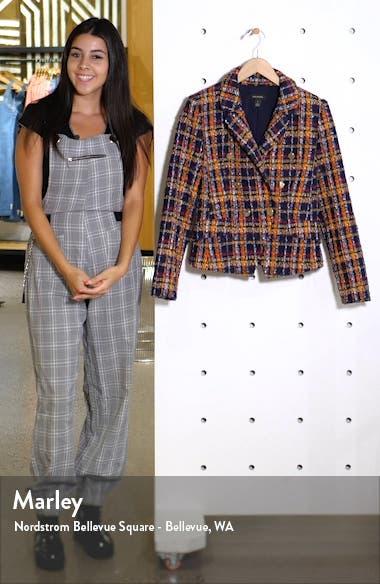 Plaid Tweed Jacket, sales video thumbnail