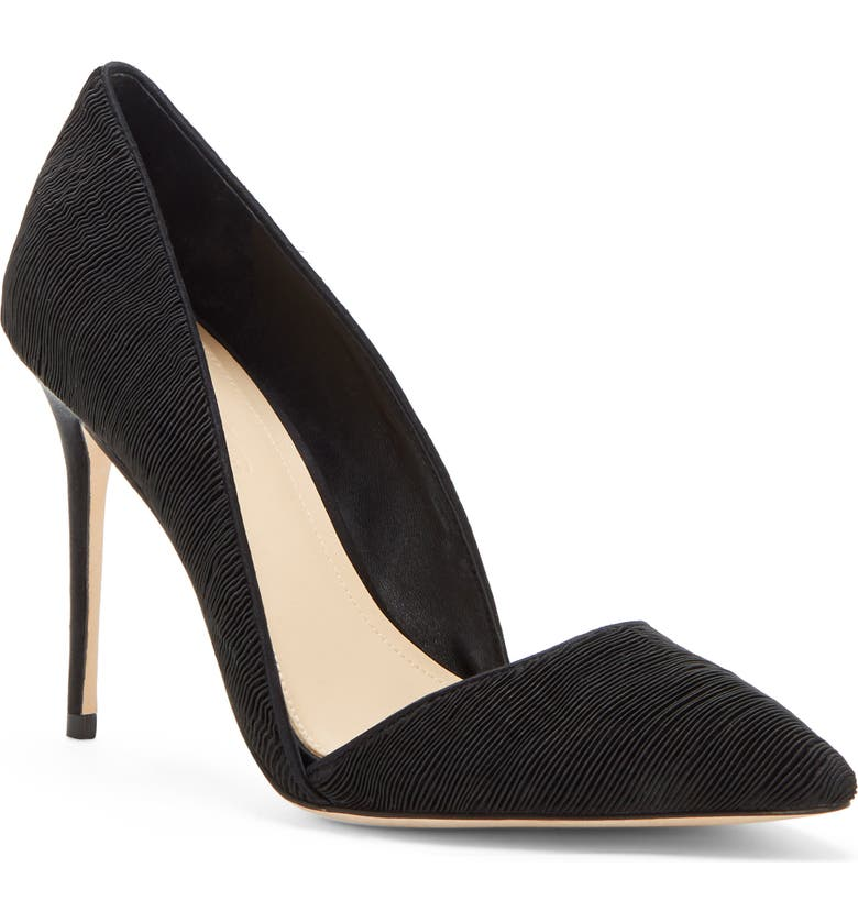 IMAGINE BY VINCE CAMUTO Imagine Vince Camuto 'Ossie' d'Orsay Pump, Main, color, BLACK FABRIC