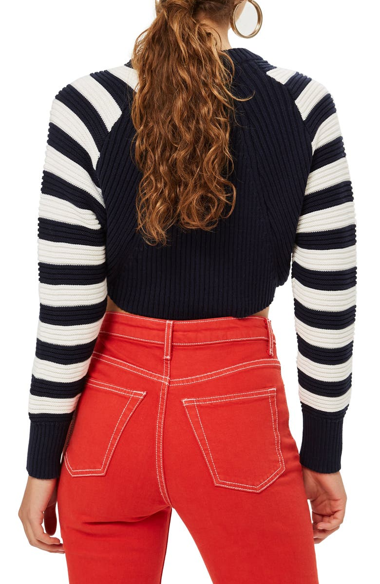 TOPSHOP Super Crop Sweater, Main, color, 411