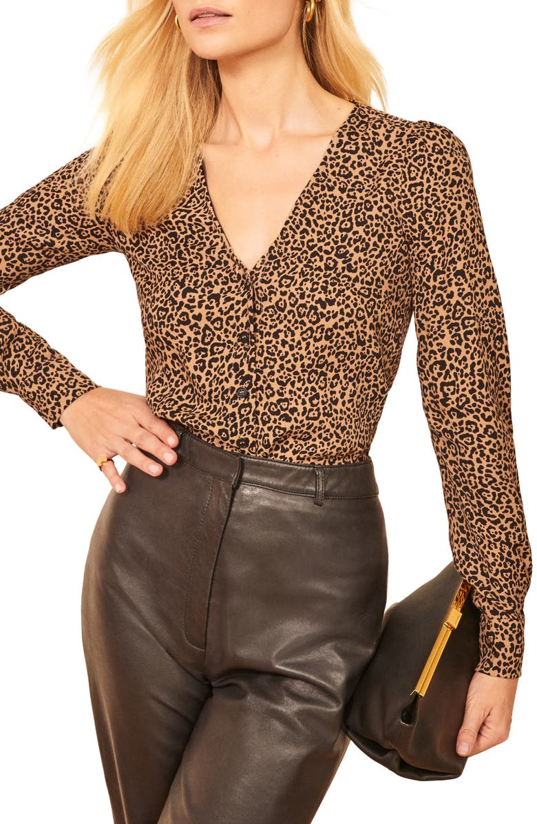REFORMATION Annaliese Top, Main, color, BENGAL