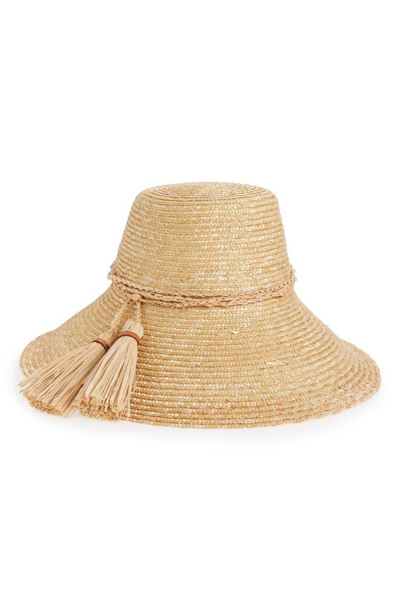 LOLA HATS Rope Swing Straw Hat, Main, color, 250